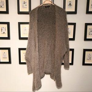 Super cozy fuzzy cardigan